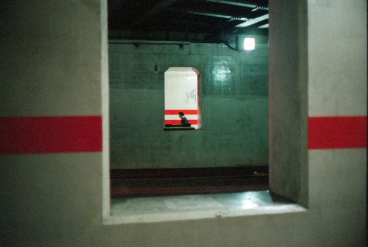 Believeinfilm Film Frame It! Ishootfilm Japan Kodak Leica Night Red Lips Shibuya Streetphotography Stripes Everywhere Summicron Tokyo Tunnel Tokyo Diary