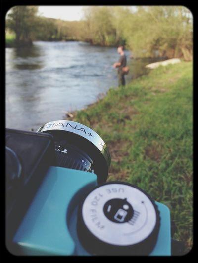 Analogic fishing noon Fishing Diana F+ Steph Filter