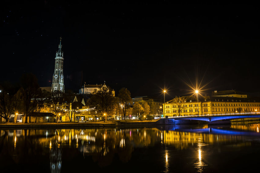 Exploring Style Night Reflection Travel Destinations City Water Bridge - Man Made Structure River Cityscape Architecture Urban Skyline Nature Sky Astronomy Cultures No People Outdoors Waterfront ARTsbyXD Vacations Illuminated EyeEmBestPics EyeEm Gallery Nightphotography Nightlife The City Light Sommergefühle