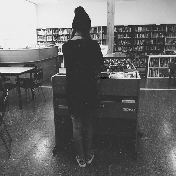🌕🌗🌘🌑 Music Library Blackandwhite Blackshirt Whynot
