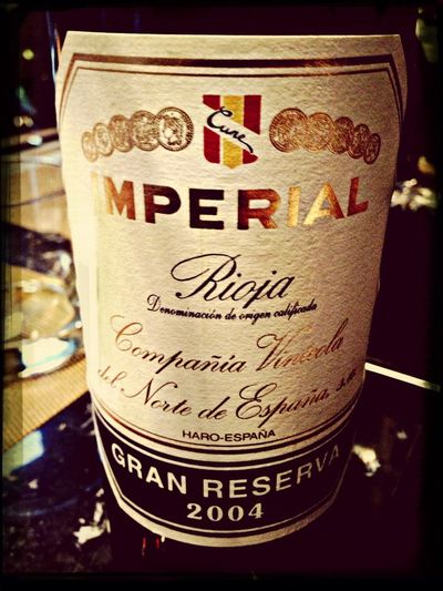 CVNE Imperial Grand Reserva 2004 @ Wine of the Years from Wine Spectator 2013