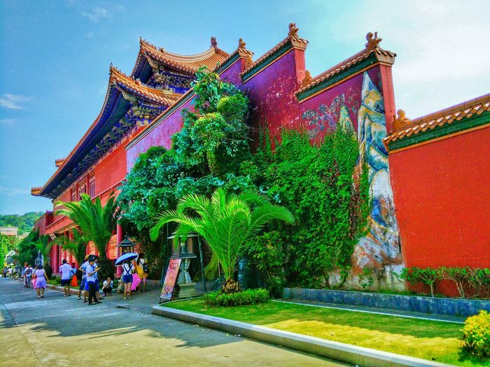 Built Structure Architecture Building Exterior Growth Outdoors Entrance Tall - High Architectural Feature EyeEm Hi! Traditional Building Taking Photos Traditional Culture