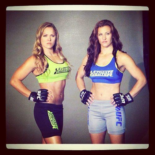 @rondarousey @mieshatate UFC Tuf MMA