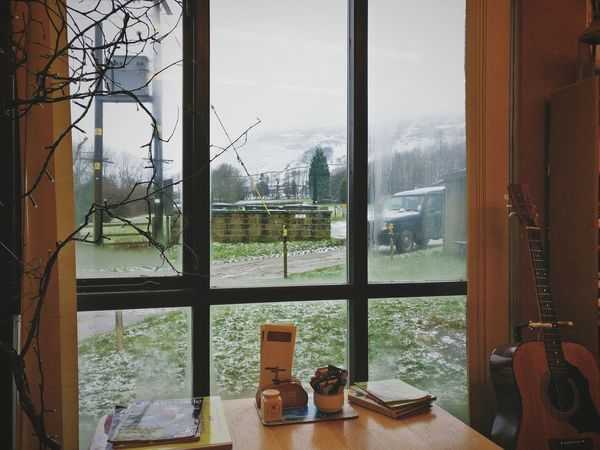 Warmth inside, adventure outside. Window Glass - Material Transparent Indoors  Water Looking Through Window See Through Sky Day Frosted Glass Home Interior Close-up Tree No People AndroidPhotography Travel Travelgram Snow Beauty In Nature Photography Outdoors Snowing Eyeemphotography From My Point Of View Rest
