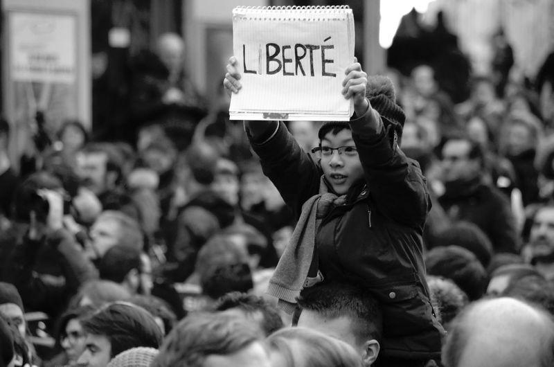 Jesuischarlie Noussommescharlie Paris 11janvier2015 Depth Of Field