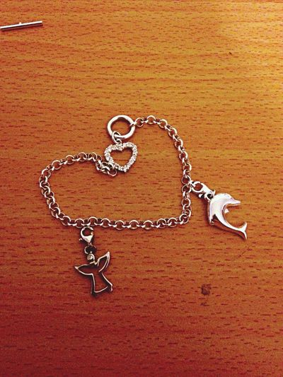 Bracelet Love Chain In Love Charms charm present