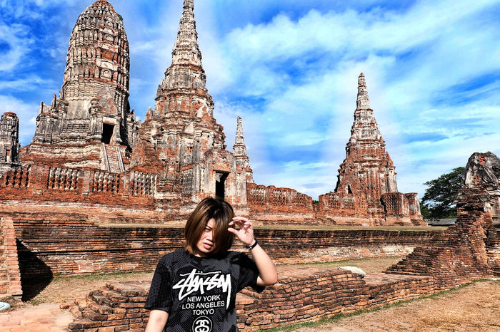 Traveling Thailand Temple วัดใหญ่ชัยมงคล อยุธยา Ayutthaya