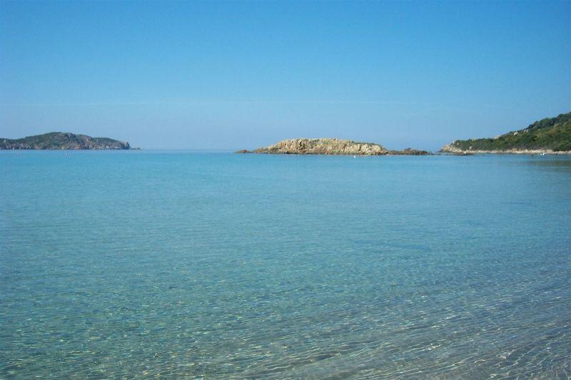 Korsyka Cargese Sea Landscape