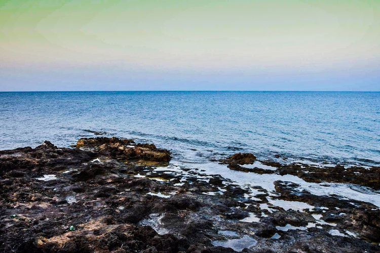 Sea Horizon Over Water Water Scenics Tranquil Scene Tranquility Beauty In Nature Blue Seascape Nature Calm Sky Nature Photography Sicily Photo Naturelovers First Eyeem Photo