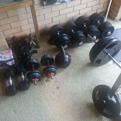 Small collection xD Homegym Weights Doyoueven Lift