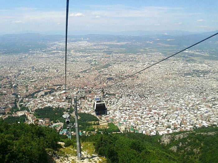 Bursa Uludag Teleferik Manzara Yüksekrakım Zirve