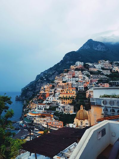 scenery EyeEm Nature Lover Eyemphotography EyeEm Italy Positano, Italy Positanocoast Discoveringpositano Cityscape Mountain City Water Tree House Sky Architecture Building Exterior Built Structure TOWNSCAPE Residential District Human Settlement Town Crowded