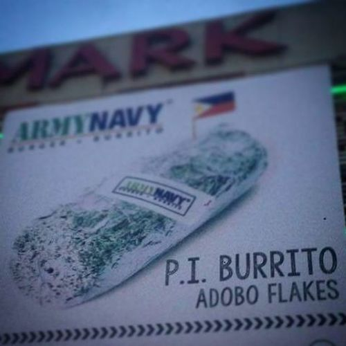 THE P.I. BURRITO!!! MAPAPAMURA KA SA SARRAP!!! (if you know what I mean) hehe 😁 Burrito Food Funny Pinoyterms