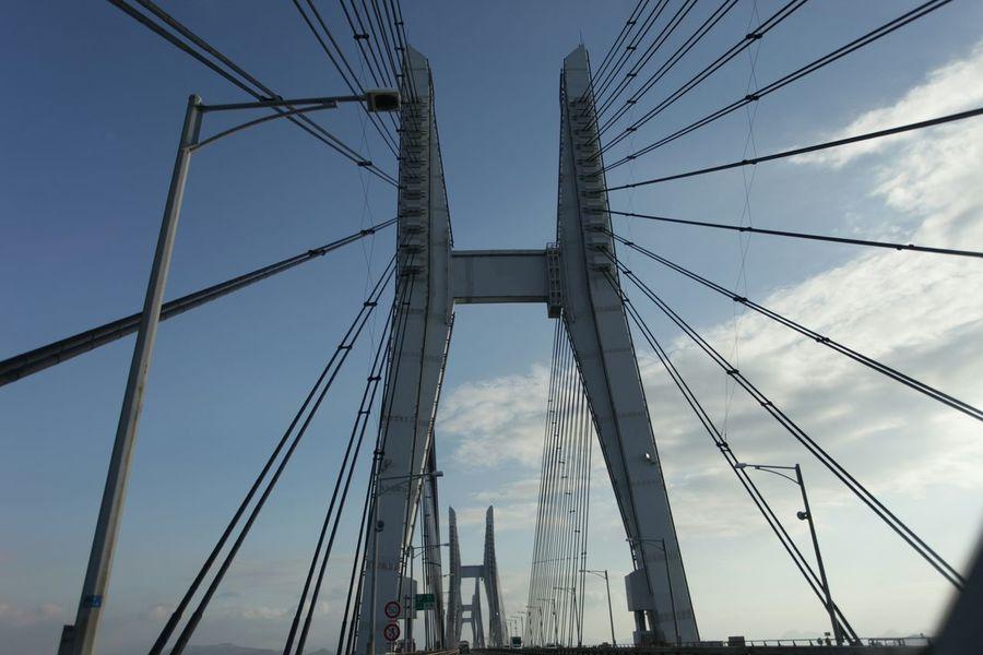 助手席より♪(*'艸`) 瀬戸大橋 Taking Photos Enjoying Life Hi! Bridges 橋 Travel 旅行