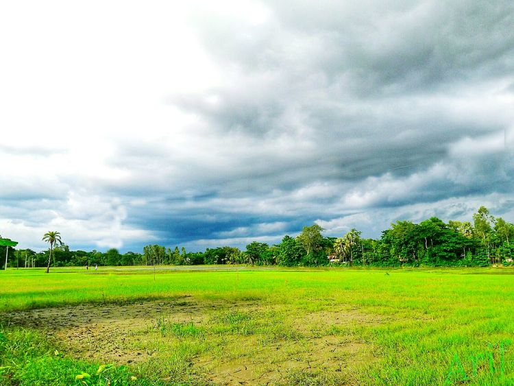 Sky And Clouds, in Chittagong,Bangladesh
