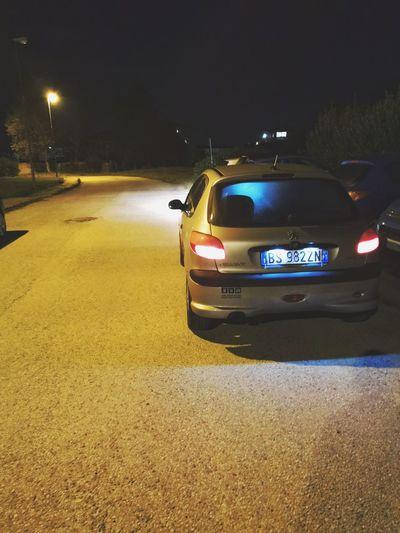 Illuminated Police Force Law Car Crime
