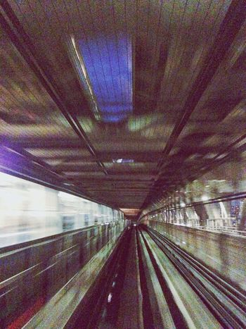 Notes From The Underground Public Transportation Enter The Void