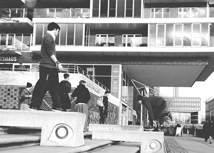 Parkour Blackandwhite 8ung Hamburg Black And White Black & White Urban Lifestyle People Watching Eye4photography  Mobilephotography IPhoneography Photography In Motion Alternative Fitness The Photojournalist - 2016 EyeEm Awards