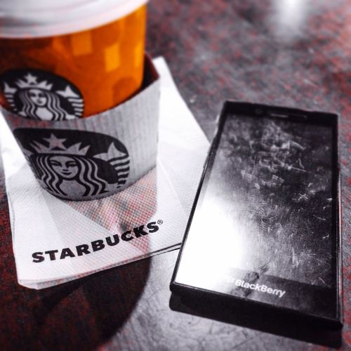 Starbucks Coffee Blackberry