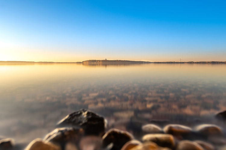 Kaunas sea Autumn Sunset Europe Lithuania Lietuva Nikon D750 Kaunas Sea Sea Water Sky Nature Clear Sky Travel Destinations Scenics - Nature Blue Copy Space Outdoors Beauty In Nature ND Filter Nd1000