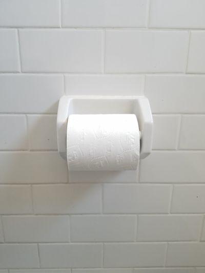 minimalistic toilet paper roll Inconvenience