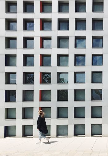 Architecture Grid Steven Holl MIT Campus One Person Outdoors People Architecture Day Window