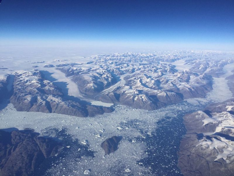 Flying over Greenland and shoot through the plane window! Truly an amazing sight. Greenland Aerial View Beauty In Nature Blue Cold Temperature Day Flight Flightview Glacier Glaciers Greenland,ilulissat Landscape Mountains Nature No People Ocean Outdoors Scenics Sea And Sky Sky Snow Tranquil Scene Tranquility Winter