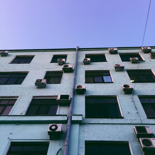 The Architect - 2017 EyeEm Awards Architecture Building Exterior Built Structure Window Low Angle View Day No People Outdoors Clear Sky Moscow Russia