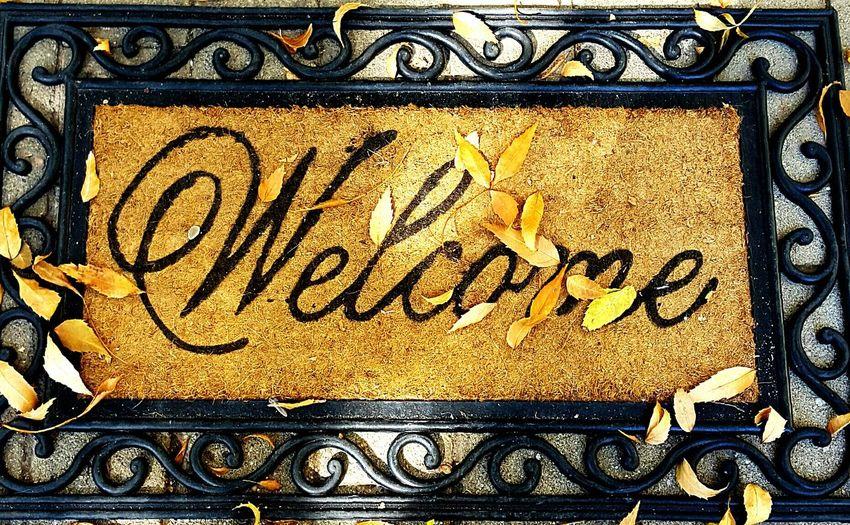 Welcome mat Autumn Welcome Mat Autumn