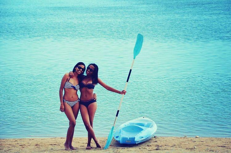 Let's go to the beach ! Beach Beachphotography Sisters Sun