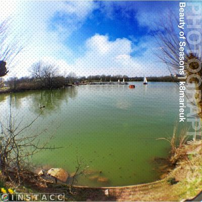 Photooftheday InstaCC Instaccselected31daysd12 Seasons K8marieuk Sunny Summer Photo365 Nottinghamshire Suttoninashfield Suttonres Kingsmillres Igers IGDaily Instagrammers Water Reservoir Lake Nature Sky Skyporn Skypainters Skysnappers Cloudporn Olloclip olloclip_fisheye fisheye