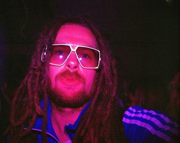 Self Portrait Rockin Cazal's Cazal Vintage Sunglasses Lomo LC-A with Diana F+ Color Flash