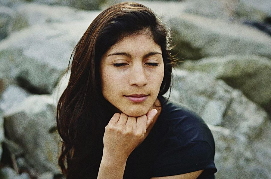 Kevinnakphoto Seattle Model Seattle Portrait Olympicsculpturepark Latin America Girl