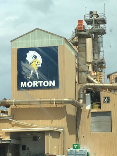 We finally able to get a picture of the Morton Salt logo close by. Branding Logo Travel Adventures Travel Photography Building Exterior Close-up Day Morton Salt Company No People Outdoors Sky
