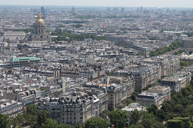 Distant view of st-louis-des-invalides in city
