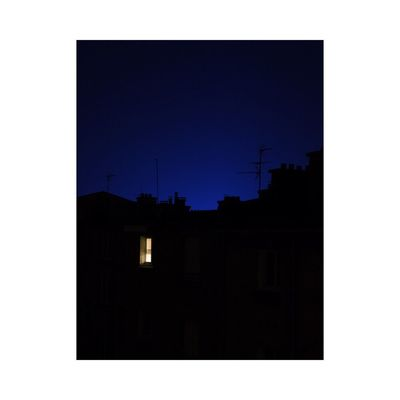 Clear Sky Silhouette No People Building Exterior Built Structure Night Outdoors Architecture Sky Simplicity Minimalism Photography Fine Art Photography Contemporary Art