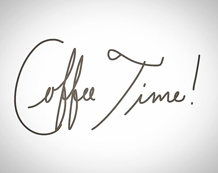 Text Handwriting  Single Word Studio Shot White Background No People Orthographic Symbol Day Coffee Coffee Time Ilovecoffee Coffee Break EyeEm Gallery EyeEmNewHere EyeEm