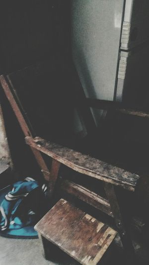 Chair in mother's former Childhood Home in Jiangmen Guangdong China Travelphotography