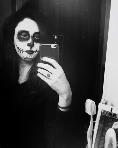 Halloween Selfie ✌ Teschio  Messicano  Trucco Me Selfienight Tagsforlikes Myself Instagood Good Followme Italiangirl Badgirl Fuckyeah Picoftheday Selfieoftheday