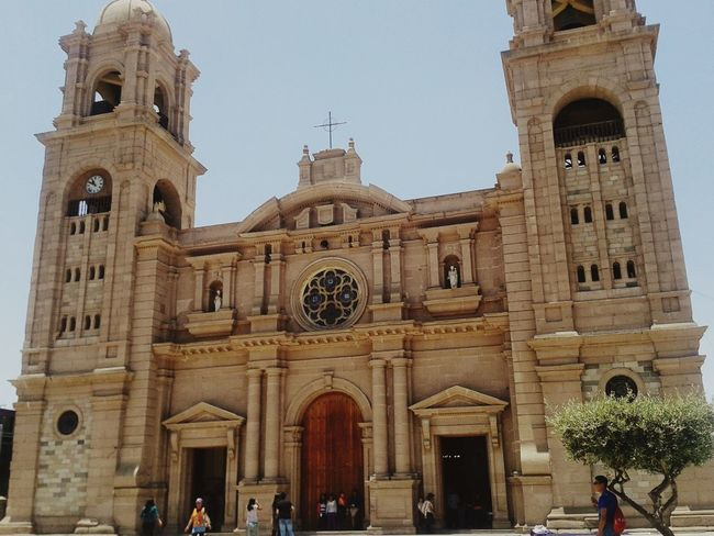 Tacna iglesias catedral turismo catolico Architecture Travel Destinations History Built Structure Large Group Of People Religion Tourism People Real People Building Exterior Lifestyles Day Adult Vacations Outdoors City Adults Only Sky