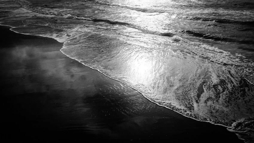 Relaxing Sea Autumn Blackandwhite Monochrome Bw_collection