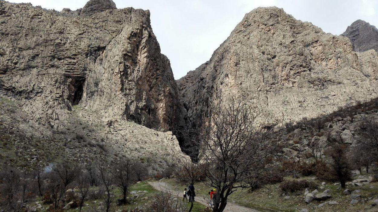 Iran♥ Kermanshah Automn Tree Day Outdoors Rock Nature Beauty In Nature Mountain