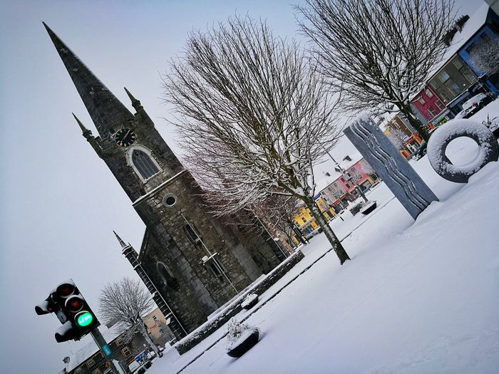 Listowel Kerry Ireland Ireland City Adventure RISK Sport Sky Snowfall