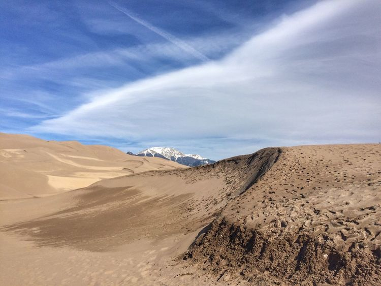 Sand dunes EyeEm Team EyeEm Gallery EyeEm Selects Sky Scenics - Nature Tranquility Land Beauty In Nature Sand Desert Arid Climate Nature Sand Dune Cloud - Sky