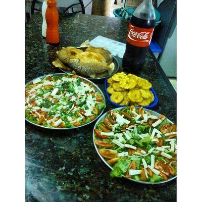 Delicioso almuerzo BuenProvecho Instafitit Instafititfree Photos androidnesia HappySunday Lunch