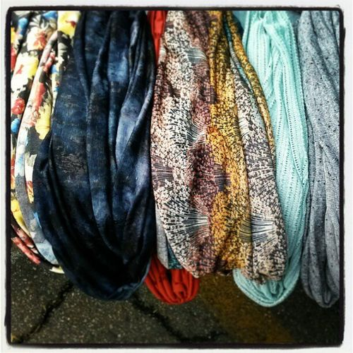 Come shop@ Melrose and Fairfax market..come cozy up with a one of a kind all handmade Infinity scarf, InfinityScarf , Melrosefleemarket , Circlescarf , Melrosetradingpost , loopscarf , Luvuluvu .. Shop @ Etsy.com/shop/LuvuLuvu