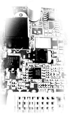 Technology Electronics Industry Computer Chip No People Citygenics Citytecno White And Black our eyes lmagination.
