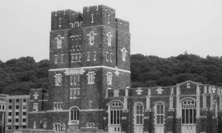 West Point IPhoneography Black And White Blackandwhite School Academy College Military Architecture Building Exterior Built Structure History Outdoors No People